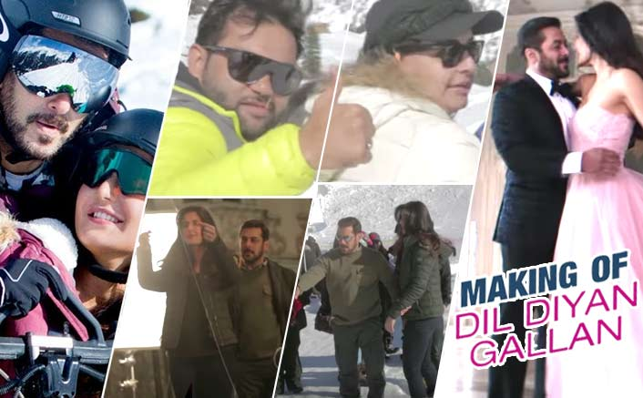 Making of Dil Diyan Gallan Song Tiger Zinda Hai