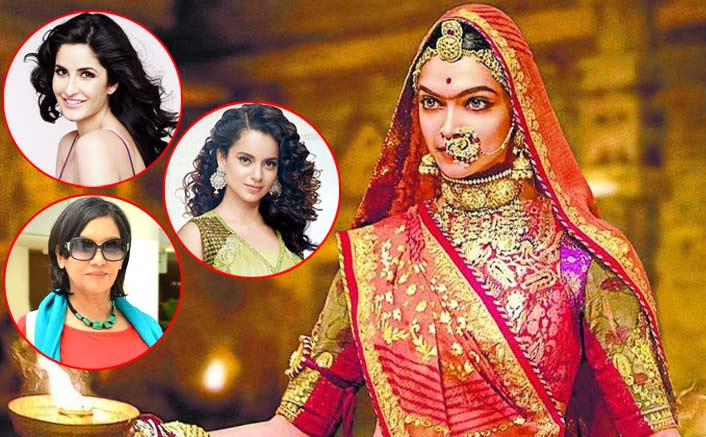 Padmavati Row: Katrina Kaif, Shabana Azmi & Kangana Ranaut To Extend Their Support To Deepika Padukone?