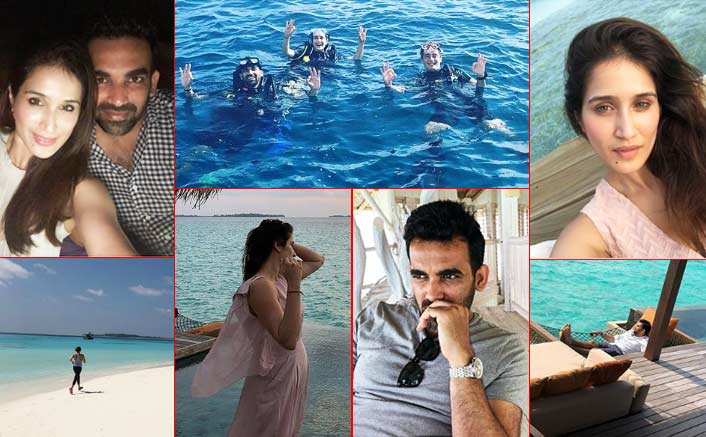 Pictures Alert! Newly Wed Sagarika Ghatge And Zaheer Khan Enjoy Their Honeymoon In Maldives