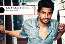 Sidharth Malhotra Quits Twitter After Posting A Sorry Tweet!