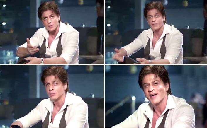 "TED Talks Host SRK :""It is time to open our minds and hearts not just the arms"""