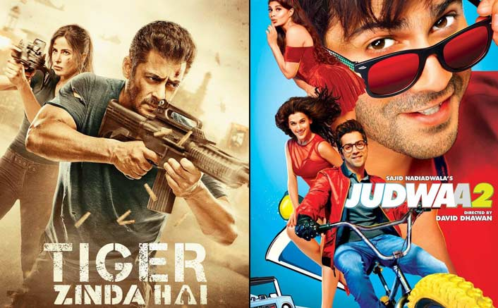 Tiger Zinda Hai Surpasses Varun Dhawan's Judwaa 2 In The List Of Profitable Films Of 2017