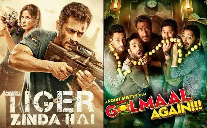 Tiger Zinda Hai Is Out To Demolish The Box-Office: Crosses Golmaal Again