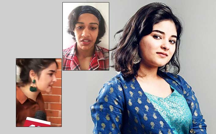 Zaira Wasim Gets Annoyed At Media; Babita Phogat Comes Out In Her Support