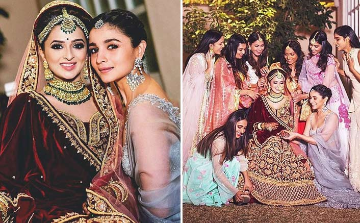Alia Bhatt turns bridesmaid for best friend's wedding