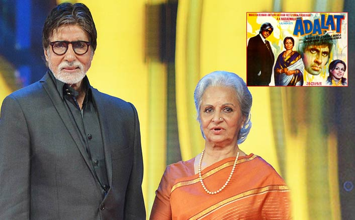 Big B was 'privileged' to work with Waheeda Rahaman in 'Adalat'