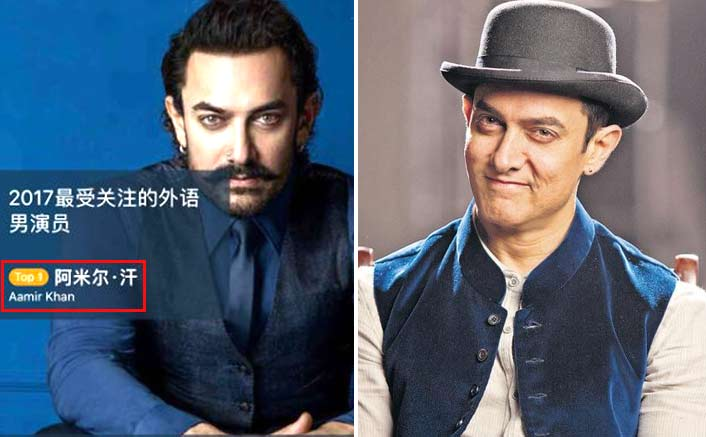 Chinese IMDb Annual survey ranks Aamir Khan as no. 1 Foreign actor