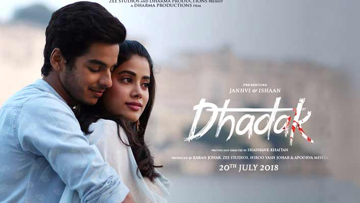 Jhanvi Kapoor's 'Dhadak' to release in July