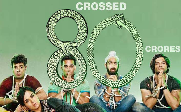 'Fukrey Returns' crosses 80 crore mark at the box office