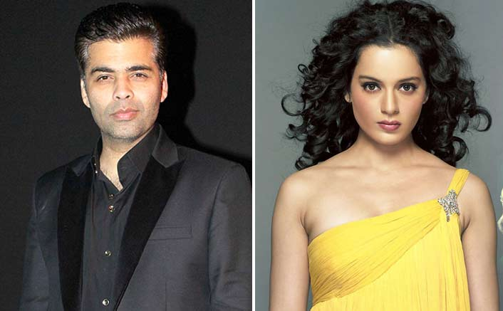Nepotism war ends? Karan and Kangana to judge reality show together