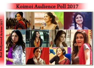Koimoi's Audience Poll: Vote For Your Favourite Leading Actress Of 2017