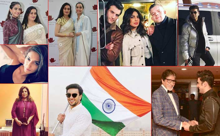 Koimoi's Daily Dose With Chai: From Ranveer's Uber Cool Republic Day Picture To Karan Johar's Perfect Pose! & Much More