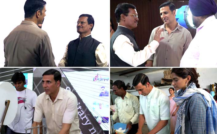 This Making Video Of Saale Sapne From Padman Gives A Sneak Peek Into Akshay Kumar's Preparation For The Film