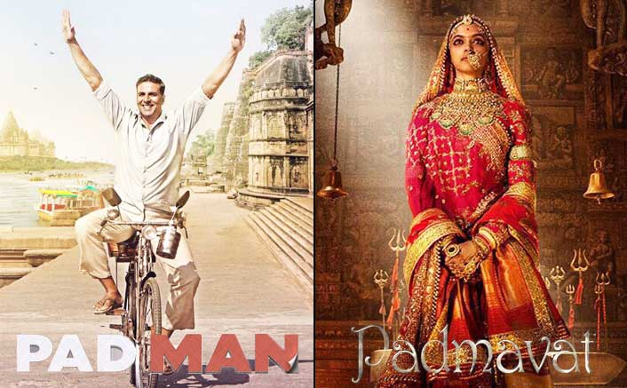 Padmavat Or Padman, Which One Will You Watch On The Republic Day Weekend