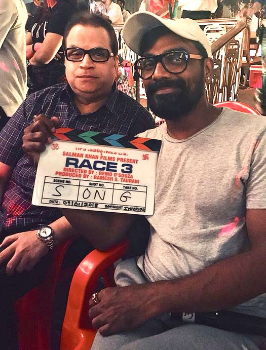 Race 3 team starts shooting for the first song