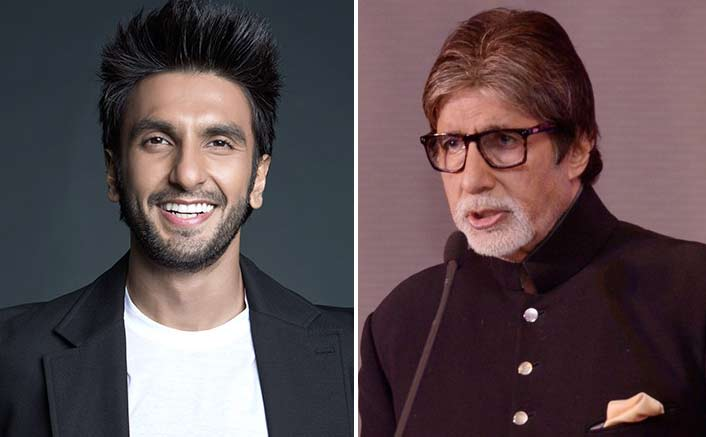 Ranveer gets first 'award' for 'Padmaavat' from Big B