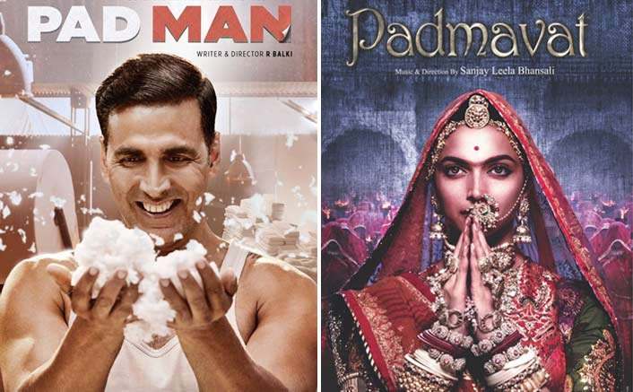 #Republicdayweekend: Padmavat V/S Padman! The Biggest Clash Of 2018