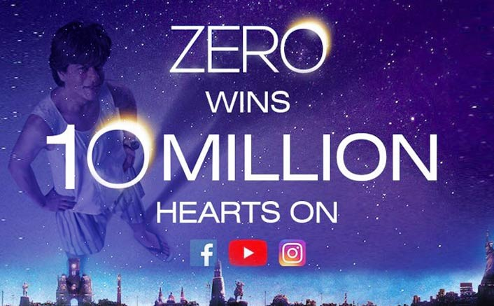 Shah Rukh Khan starrer 'ZERO' teaser marks 10M views in less than 24 hours