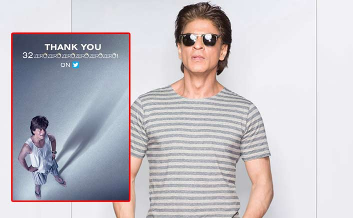 SRK scores 32 mn Twitter followers
