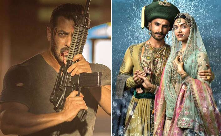 Tiger Zinda Hai Beats Bajirao Mastani In The List Of Of Top 10 Highest-Grossing Bollywood Films In Overseas
