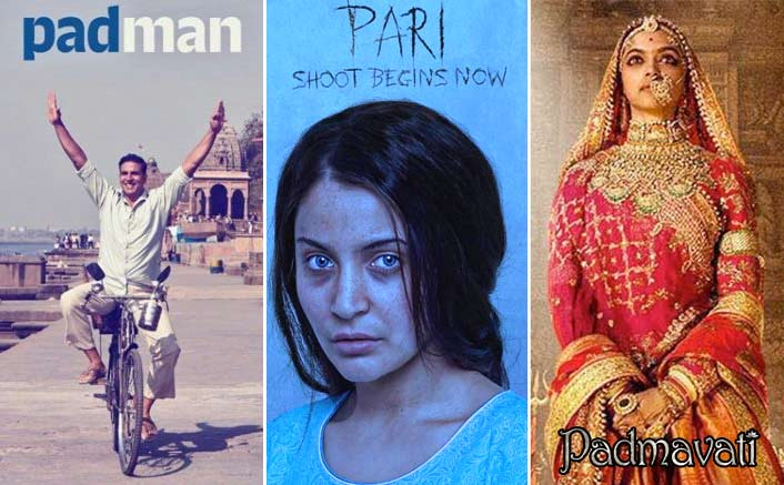 Uncertainty for 'Pad Man', 'Pari' prevails as 'Padmavati' release rumours float