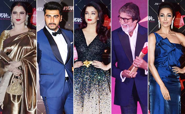 Nykaa Femina Beauty Awards 2018: Amitabh Bachchan, Aishwarya Rai Bachchan, Rekha & More Shine At The Red Carpet