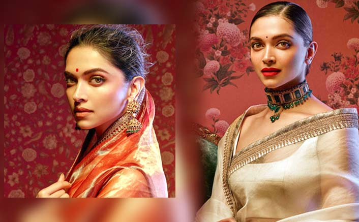 Deepika Padukone Looks Like A Dream In Sabyasachi Mukherjee's Recently Launched Nilaya Collection