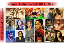 Koimoi Audience Poll 2017: Check Out The Complete Winners List