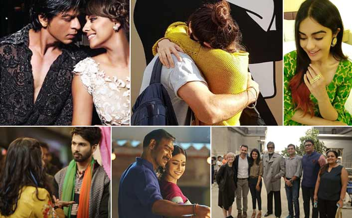 Koimoi's Daily Dose With Chai: #Virushka's cutest hug, SRK &Gauri's Throwback Pic, Love is in the air!