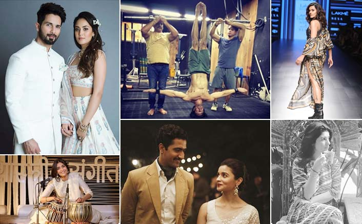 Koimoi's Daily Dose With Chai:Shahid& Mira's Magical Picture, Vidyut Jammwal's Hot Headstand & Much More!