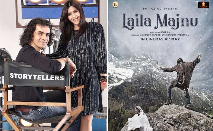Laila Majnu Poster: Imtiaz Ali & Ekta Kapoor Come Together To Recreate This Classic Romance