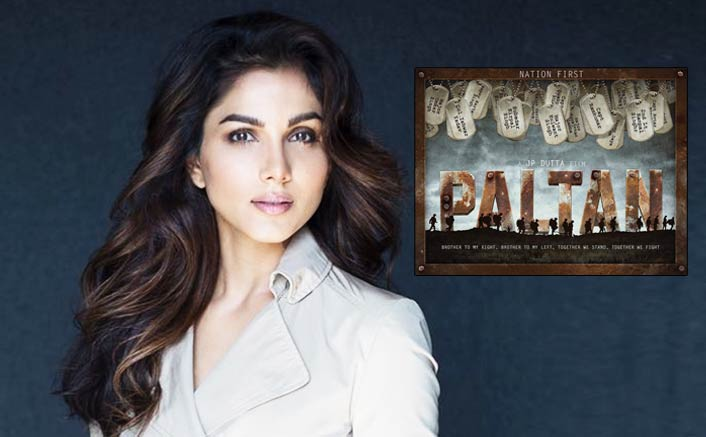 Monica Gill part of J P Dutta's PALTAN!