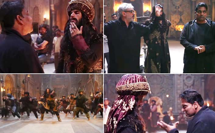 Padmaavat: Ranveer Singh's MADNESS & HARD WORK Is What You Need To See In Khalibali's Making Video