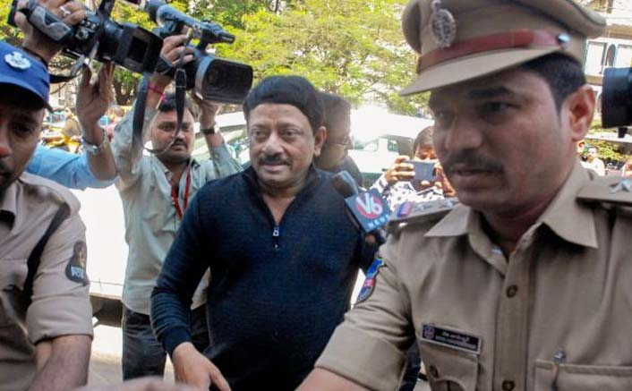 RGV questioned by Hyderabad police in obscenity case