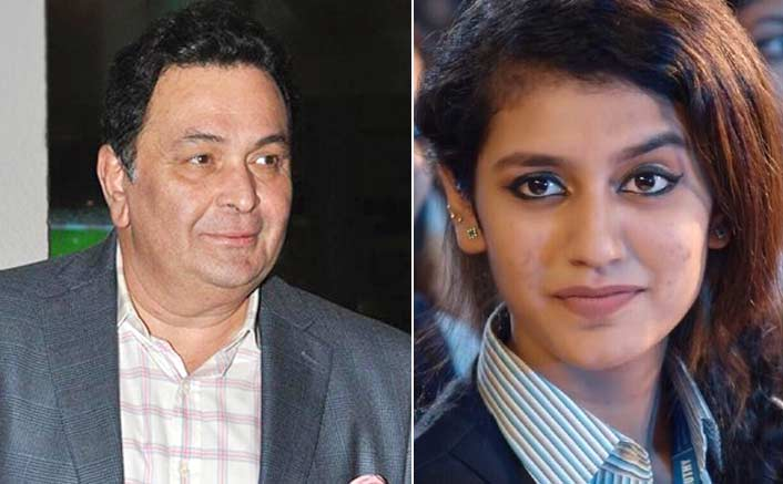 Rishi Kapoor predicts 'huge stardom' for Priya Varrier