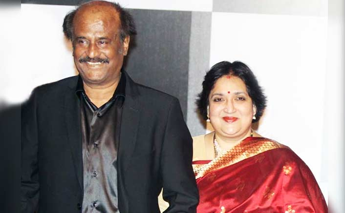 Rajanikanth and Latha Rajinikanth