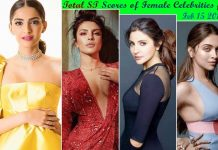 Sonam Kapoor ranks first in Score Trends India Charts surpasses Deepika Padukone, while Priyanka jumps to second position