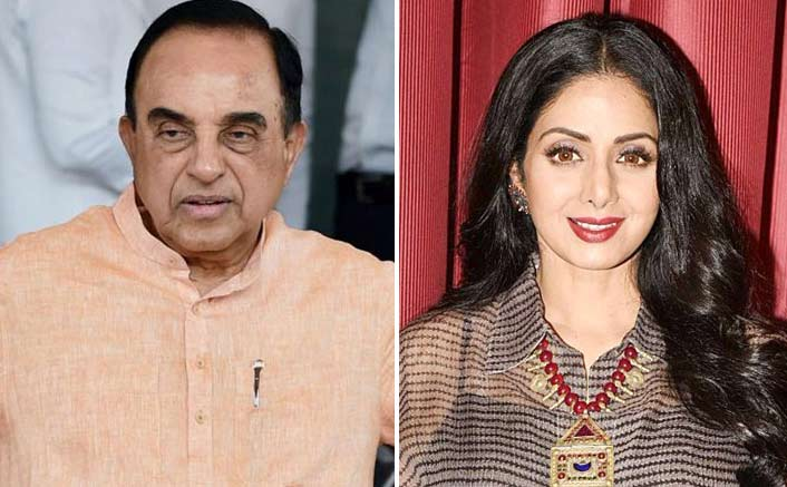 Sridevi death case: I think it's murder, alleges Subramaniam Swamy