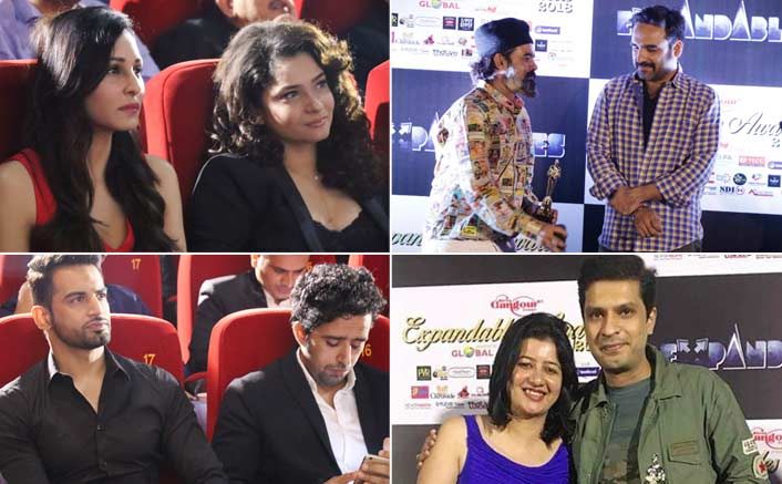 Ankita Lokhande, Deepika Kakkar, Pooja Chopra, Upen Patel and many more Celebs grace The Expandables Awards 2018...