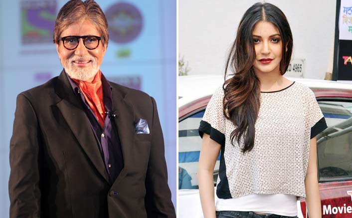 Big B continues his dominance while Anushka Sharma leads the Score Trends India Chart