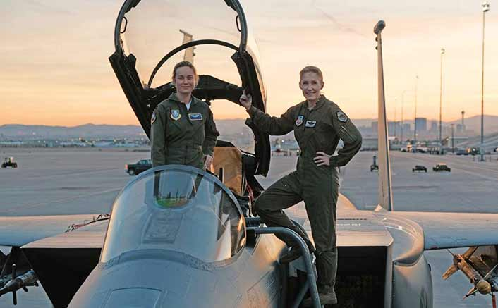 'Captain Marvel' goes on floor