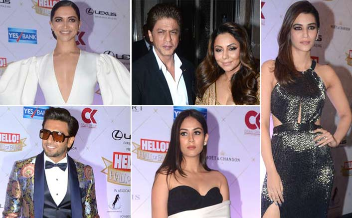 From Deepika Padukone To Rekha & Ranveeer Singh, Glam Up For The Hello Hall Of Fame Awards 2018