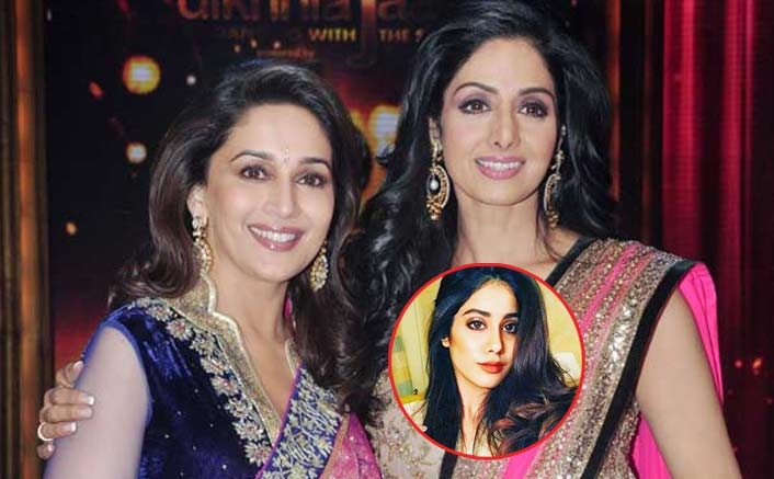 Janhvi Kapoor Thanks Madhuri Dixit For Stepping In Sridevi's Shoes For Shiddat