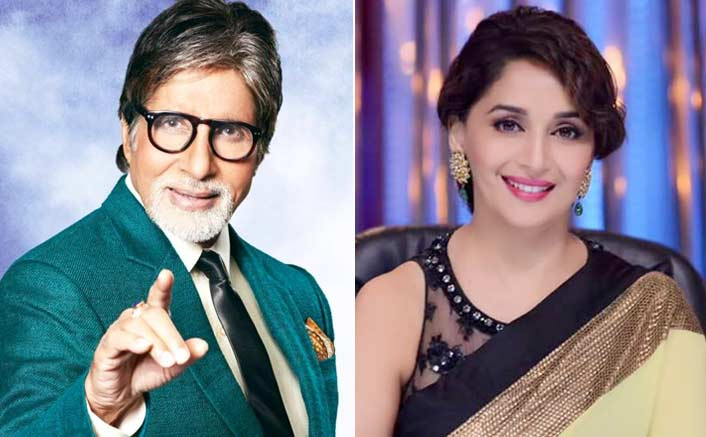 Madhuri Dixit & Amitabh Bachchan takes a huge jump to rank first in Score Trends India Charts post Sridevi's tragic demise