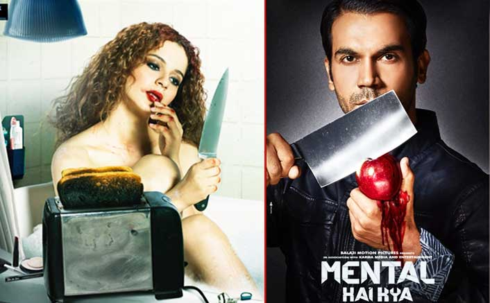 Mental Hai Kya New Posters: Kangana Ranaut & Rajkummar Rao Are LITERALLY Killing It!