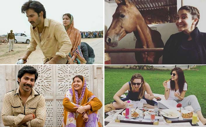Photos: Anushka Sharma From The Sets Of Sui Dhaaga