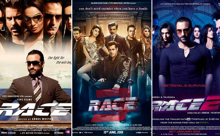 Race 3 Poster: Comparing With Race & Race 2; Which One Has A Better Poster? VOTE NOW!