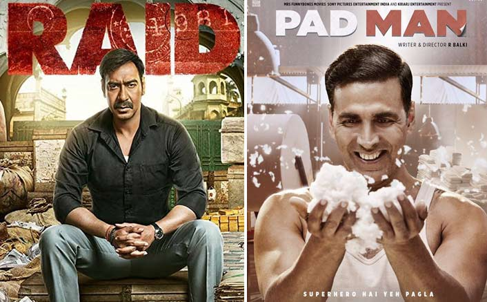 Raid VS PadMan; Ajay Devgn VS Akshay Kumar: Box Office Analysis