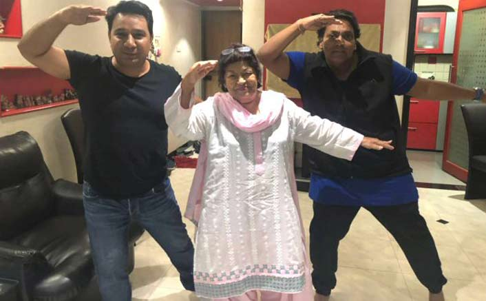 Saroj Khan blesses the remake of Ek Do Teen