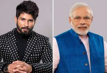 Shahid Kapoor's special message for PM Modi